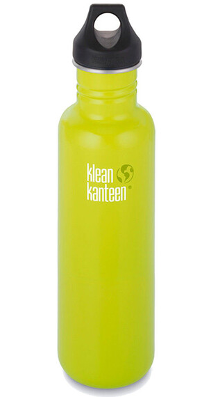 Klean Kanteen Classic 27oz Loop Cap (800 ml) lime pop
